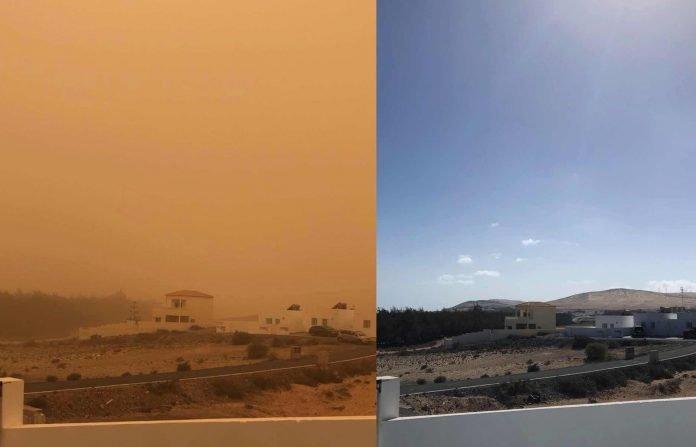 Calima ein Wetterphänomen auf Fuerteventura