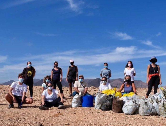 Umweltschutzorganisation sammelt 165 Kilo Müll in Puerto del Rosario - Bildquelle: Avanfuer
