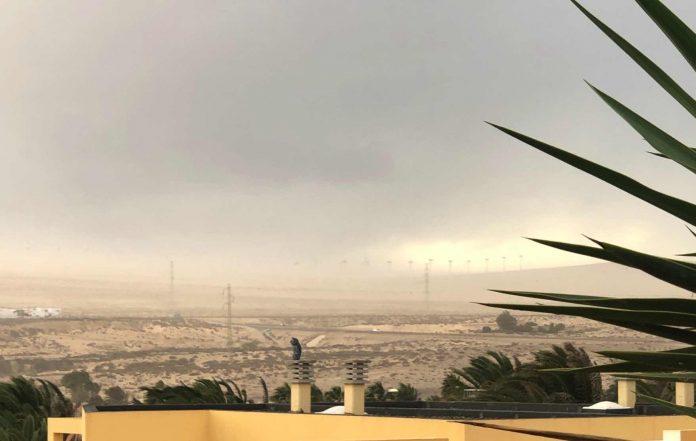 Calima und starker Wind über Heiligabend auf Fuerteventura