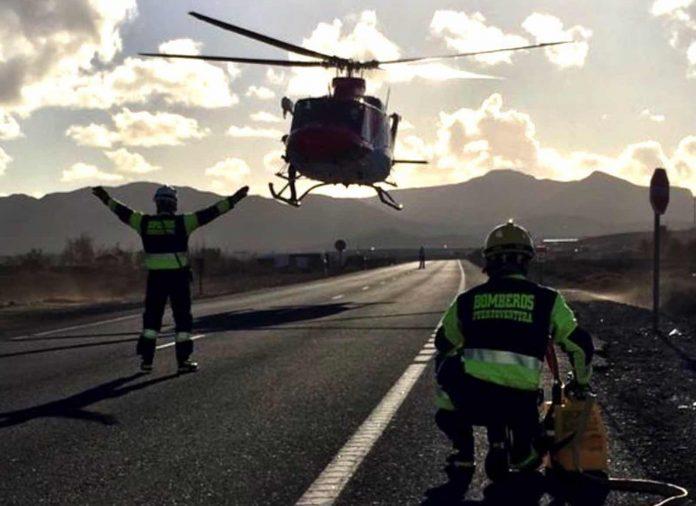 Frau stirbt bei Unfall auf Fuerteventura - 7 weitere verletzte - Bildquelle: Twitter / #ftvErergen