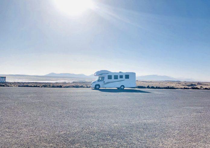 Neue Wohnmobil Service Station in Tarajalejo im Süden von Fuerteventura